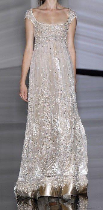 Elie Saab My Fair Lady inspired gown