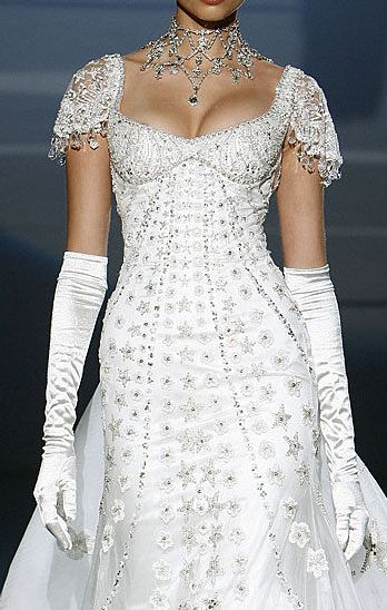 Zuhair Murad My Fair Lady inspired gown
